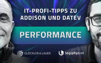 Addison und Datev Performance Tipps – Warum sind meine Programme so langsam?